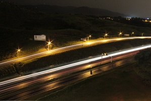 highway at night after the rain - rodovia anoite depois da chuva
