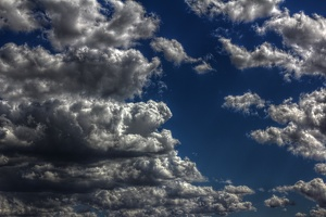 Clouds in HDR / Nuvens em HDR